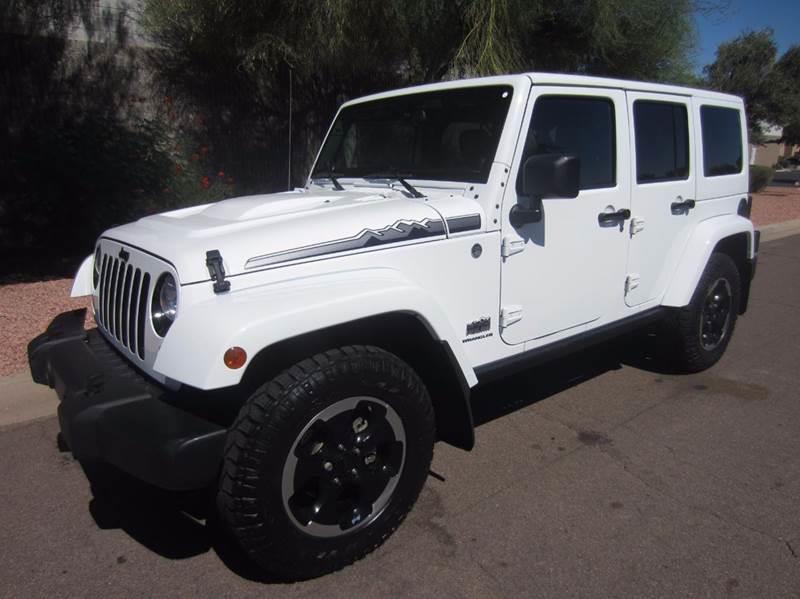 2014 Jeep Wrangler Unlimited Altitude Edition In Tempe AZ  Cars