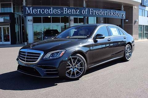 2018 Mercedes-Benz S-Class for sale in Fredericksburg, VA