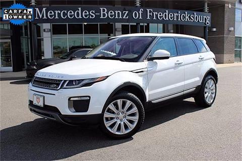 2016 Land Rover Range Rover Evoque for sale in Fredericksburg, VA