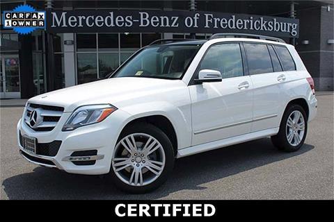 2014 Mercedes-Benz GLK for sale in Fredericksburg, VA