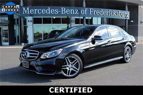 2016 Mercedes-Benz E-Class for sale in Fredericksburg, VA