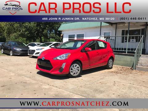 2016 Toyota Prius c for sale in Natchez, MS
