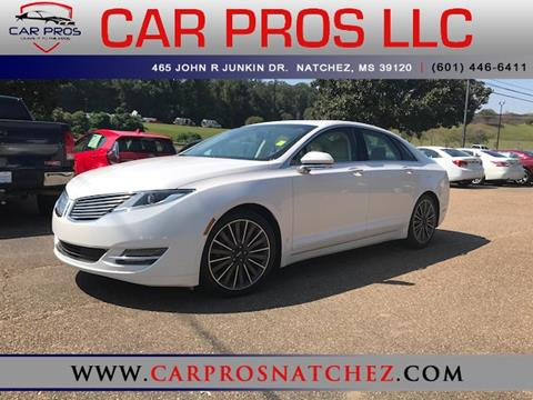 2015 Lincoln MKZ Hybrid for sale in Natchez, MS