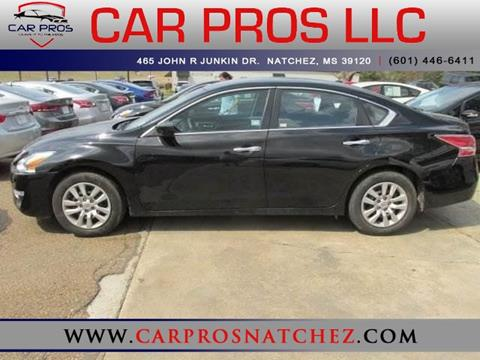 2015 Nissan Altima for sale in Natchez, MS