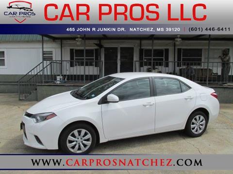 2016 Toyota Corolla for sale in Natchez, MS