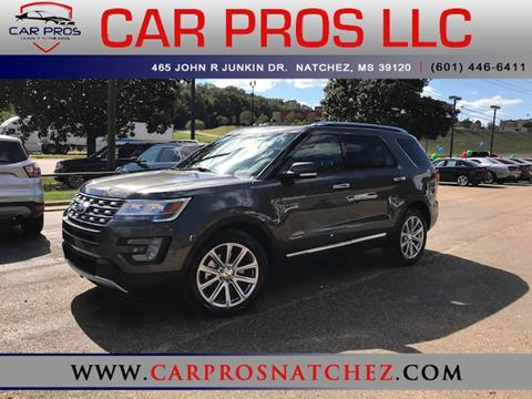 2017 Ford Explorer for sale in Natchez, MS