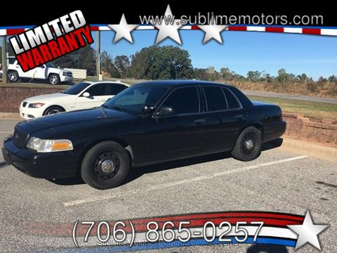 2009 Ford Crown Victoria for sale in Cleveland, GA