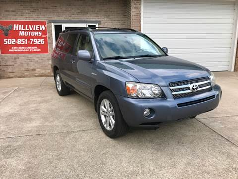 2006 Toyota Highlander Hybrid for sale at HillView Motors in Shepherdsville KY