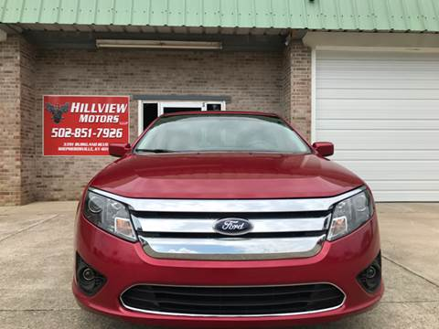 2012 Ford Fusion for sale at HillView Motors in Shepherdsville KY