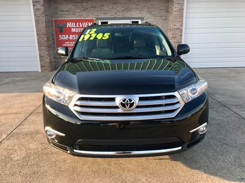 2012 Toyota Highlander for sale at HillView Motors in Shepherdsville KY