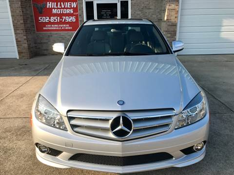 2008 Mercedes-Benz C-Class for sale at HillView Motors in Shepherdsville KY