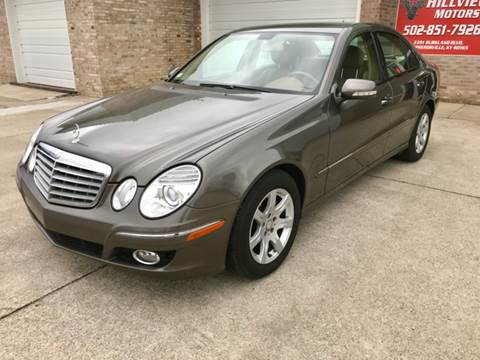 2008 Mercedes-Benz E-Class for sale at HillView Motors in Shepherdsville KY