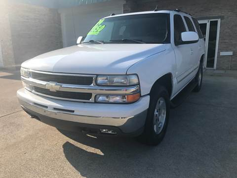 2004 Chevrolet Tahoe for sale at HillView Motors in Shepherdsville KY