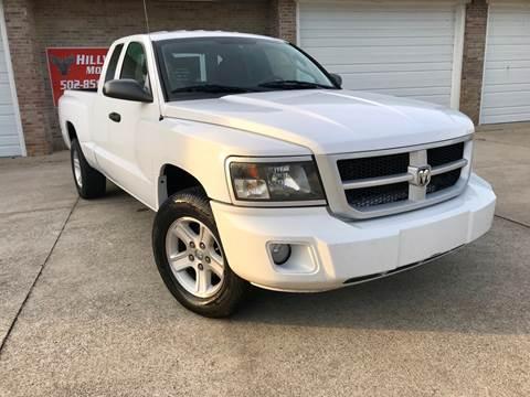 2010 Dodge Dakota for sale at HillView Motors in Shepherdsville KY
