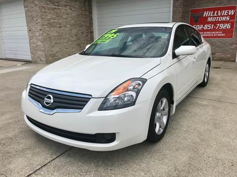 2009 Nissan Altima for sale at HillView Motors in Shepherdsville KY