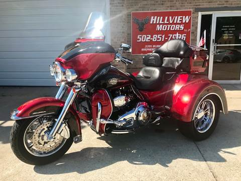 2012 Harley Davidson  Touring Glide Ultra Classic  for sale at HillView Motors in Shepherdsville KY