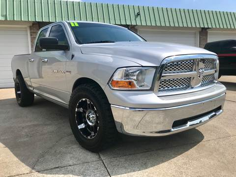 2011 RAM Ram Pickup 1500 for sale at HillView Motors in Shepherdsville KY