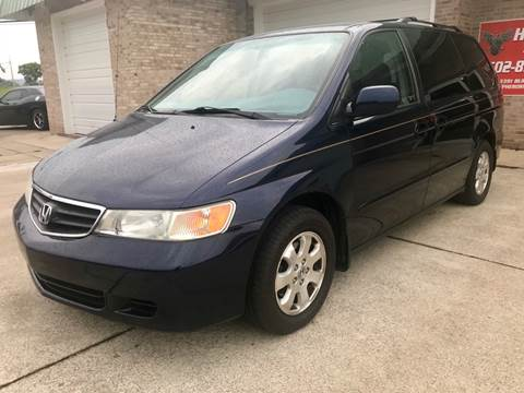 2003 Honda Odyssey for sale at HillView Motors in Shepherdsville KY