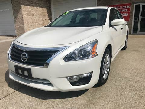 2013 Nissan Altima for sale at HillView Motors in Shepherdsville KY
