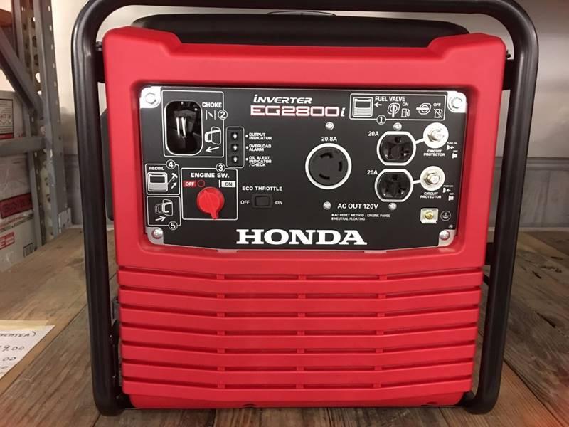 2021 Honda POWER EG2800 GENERATOR for sale at Irv Thomas Honda Suzuki Polaris in Corpus Christi TX