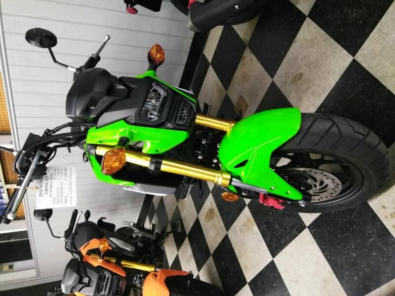 2020 Honda Grom125 for sale at Irv Thomas Honda Suzuki Polaris in Corpus Christi TX