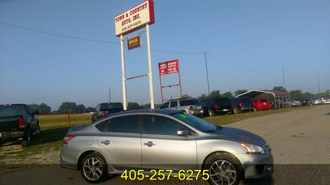 2014 Nissan Sentra for sale in Wewoka, OK
