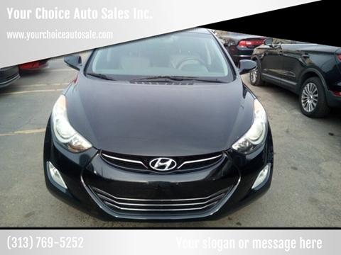 2012 Hyundai Elantra for sale in Dearborn, MI