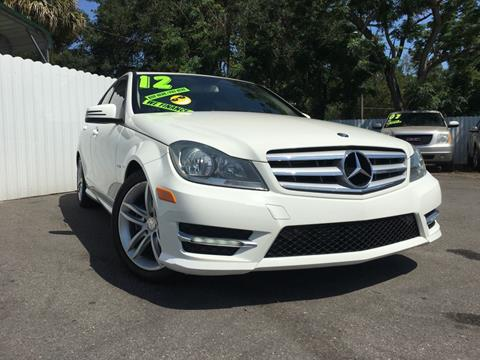2012 Mercedes-Benz C-Class for sale in Tampa FL