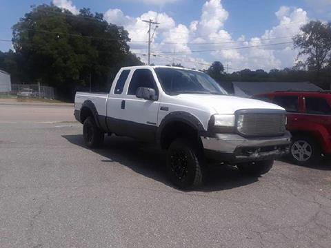 2001 Ford F-250 Super Duty for sale in Lancaster, SC