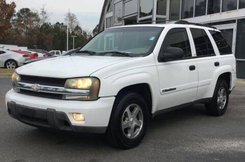 2003 Chevrolet TrailBlazer LT for sale at Dukes Automotive LLC in Lancaster SC