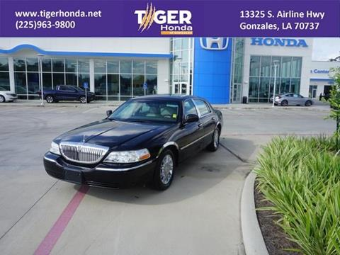 2010 Lincoln Town Car for sale in Gonzales, LA