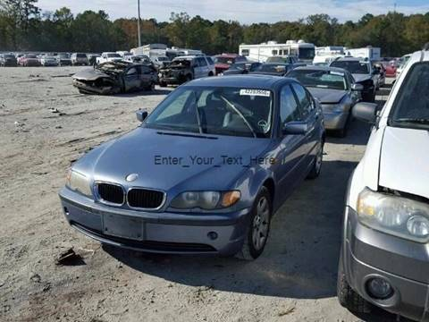 2004 Bmw 3 Series For Sale In Jacksonville Fl