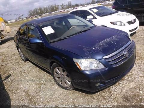 2006 Toyota Avalon for sale in Jacksonville, FL