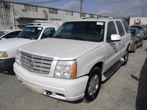 2002 Cadillac Escalade for sale in Jacksonville, FL