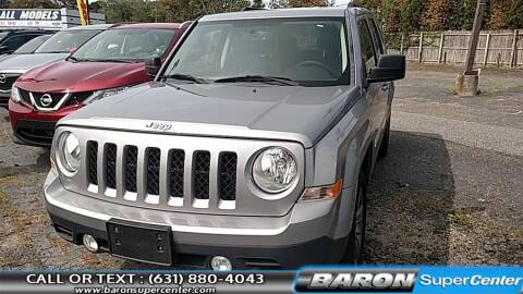2015 Jeep Patriot for sale at Baron Super Center in Patchogue NY