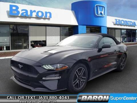 2020 Ford Mustang for sale at Baron Super Center in Patchogue NY