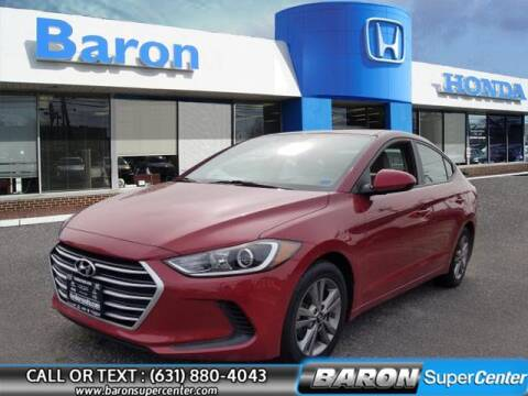 2017 Hyundai Elantra for sale at Baron Super Center in Patchogue NY