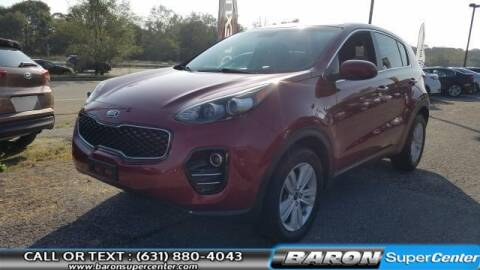 2017 Kia Sportage for sale at Baron Super Center in Patchogue NY