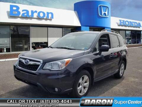 2015 Subaru Forester for sale at Baron Super Center in Patchogue NY