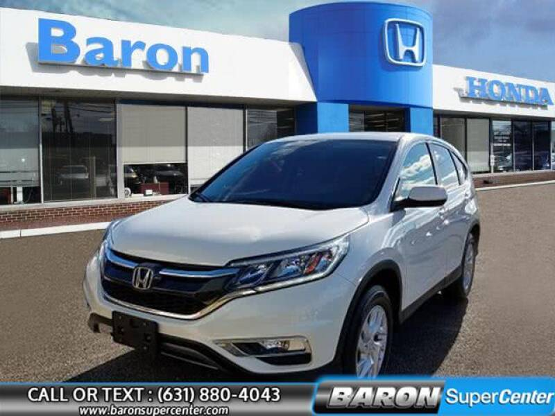2016 Honda CR-V for sale at Baron Super Center in Patchogue NY