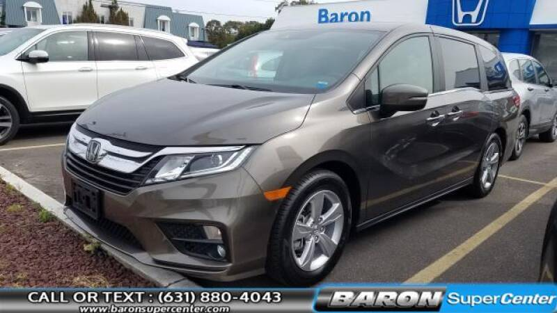 2018 Honda Odyssey for sale at Baron Super Center in Patchogue NY