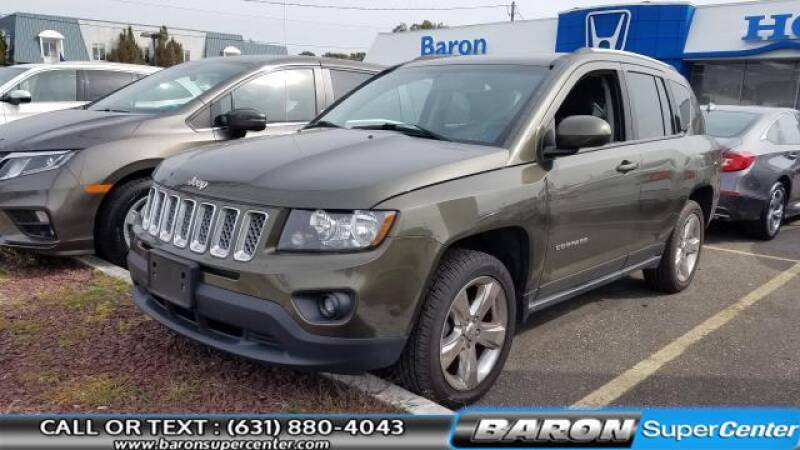 2015 Jeep Compass for sale at Baron Super Center in Patchogue NY