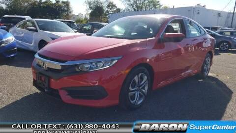 2017 Honda Civic for sale at Baron Super Center in Patchogue NY