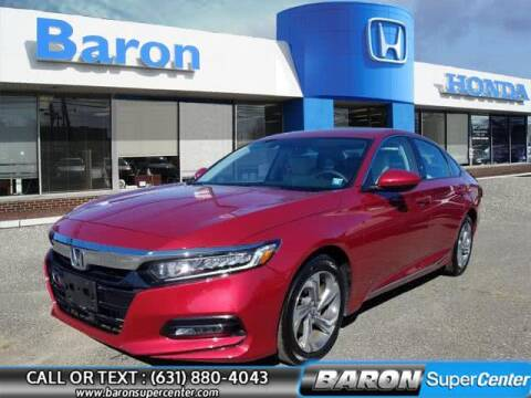 2019 Honda Accord for sale at Baron Super Center in Patchogue NY
