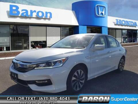 2017 Honda Accord Hybrid for sale at Baron Super Center in Patchogue NY