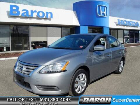 2014 Nissan Sentra for sale at Baron Super Center in Patchogue NY