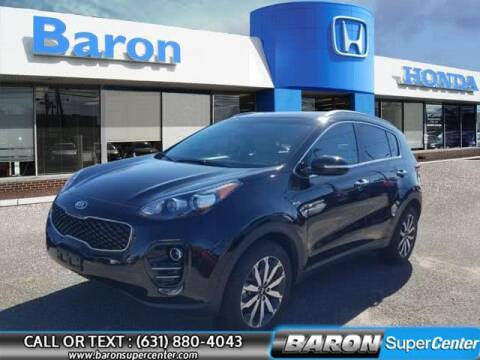 2018 Kia Sportage for sale at Baron Super Center in Patchogue NY
