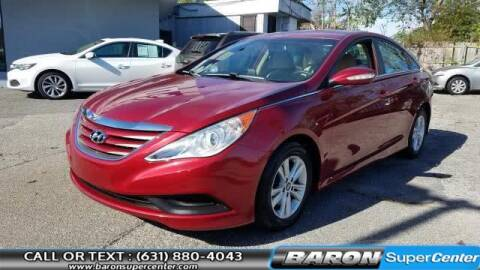 2014 Hyundai Sonata for sale at Baron Super Center in Patchogue NY