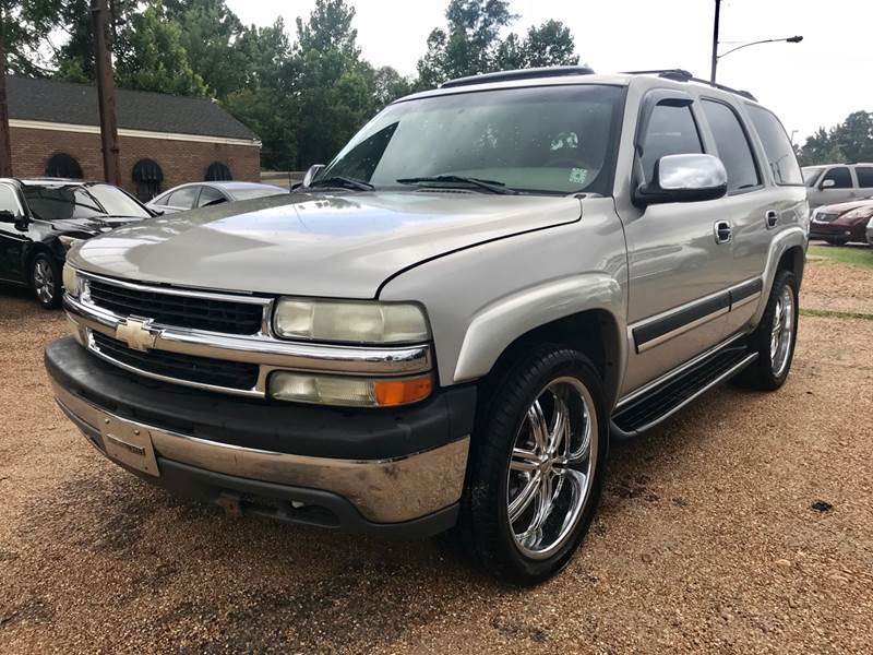 2004 Chevrolet Tahoe Lt In Jackson Ms Mikes Auto Sales