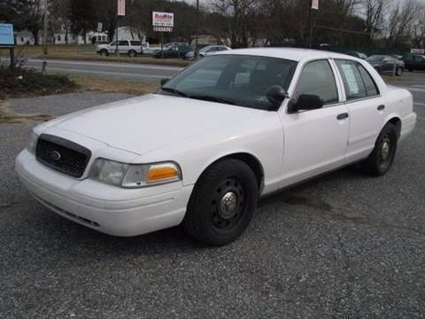 2008 Ford Crown Victoria for sale at Iron Horse Auto Sales in Sewell NJ